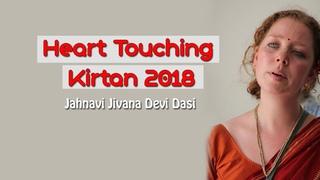 Heart Touching Harekrishna Kirtan by Jahnavi Jivana Devi Dasi   Sadhu Sanga Retreat 2018