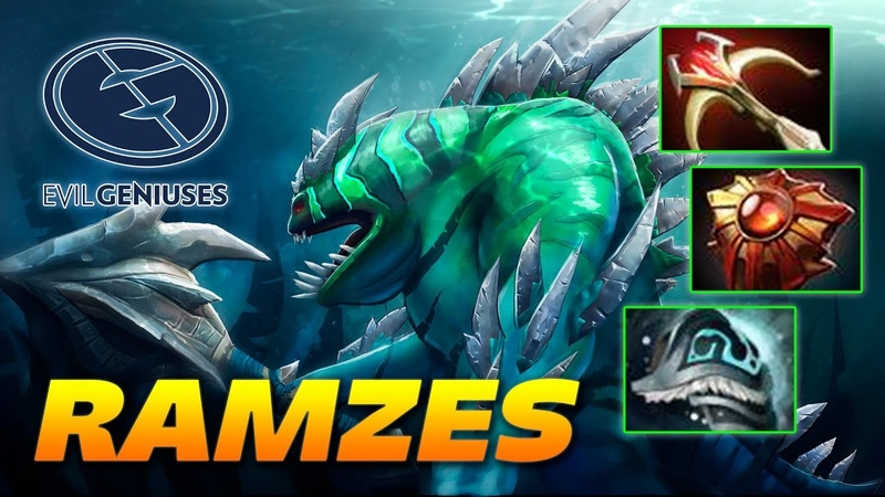 RAMZES666 Tidehunter - Evil Geniuses - Dota 2 Pro Gameplay