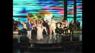 Мы желаем счастья вам - поют Николай Тимаков, Валерий Топорков,  Иван Пермяков, Анастасия Гаева