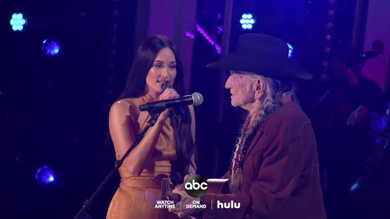 Kacey Musgraves Willie Nelson - Rainbow Connection, Rainbow (CMA Awards 2019)