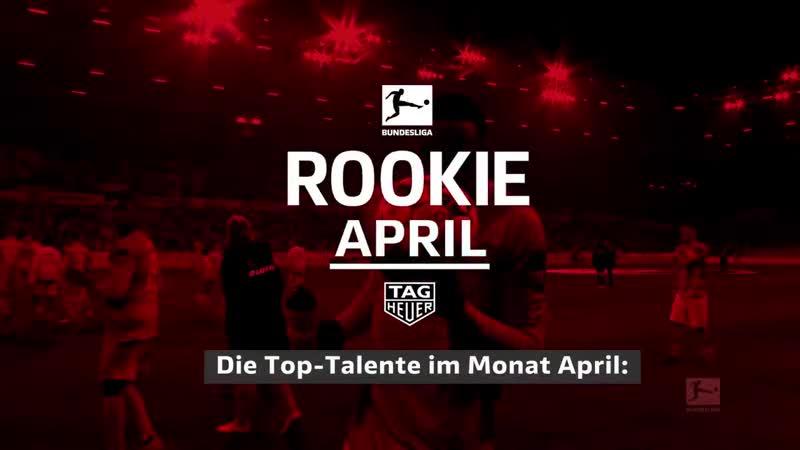 Wer wird BLROOKIE des Monats April Nominiert sind Jean Philippe Mateta @1FSVMainz05 @NordiMukiele @DieRotenBullen @Mat
