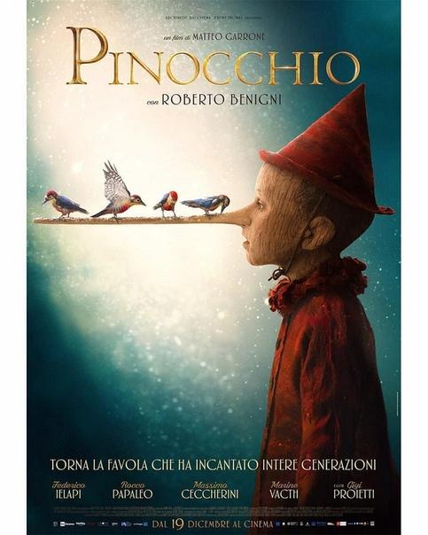 Пиноккио / Pinocchio / 2019 / ЛМ / WEB-DLRip