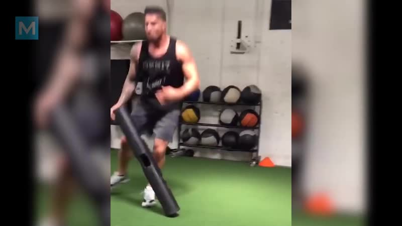 Brendan Schaub ★ Training with Former UFC Fighter _ Muscle Madness