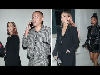 Ashlee Simpson And Evan Ross Party With Nicole Scherzinger In WeHo