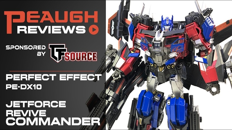 Video Review Perfect Effect PE-DX10 - Jetforce Revive COMMANDER