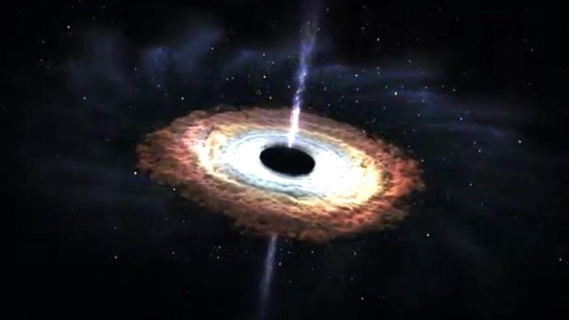 UN BUCO NERO INGHIOTTE UNA STELLA GRANDE COME IL SOLE EVENTO RARISSIMO OSSERVATO DALLA NASA