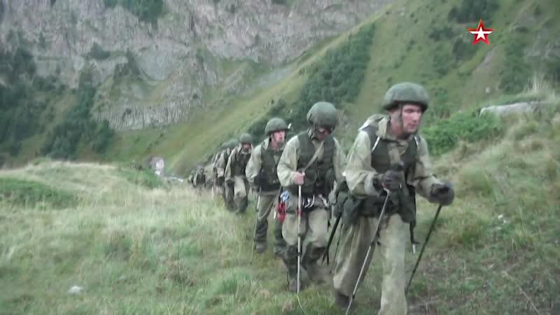 Двуглавый Эльбрус новое испытание для Взвода в высокогорье