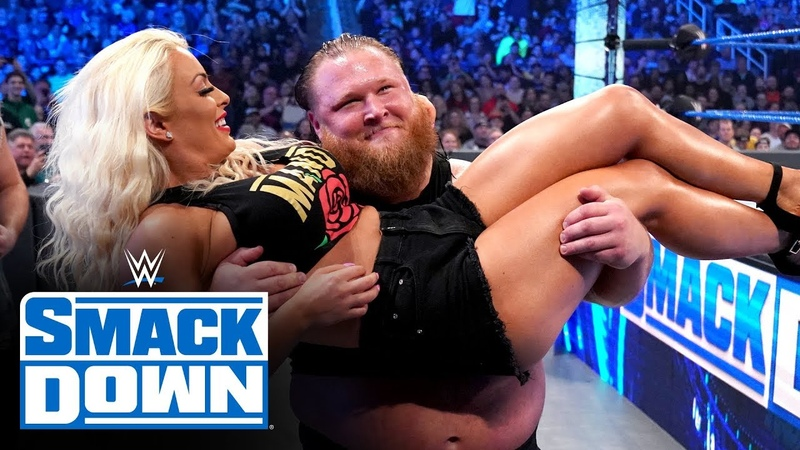 Video@alexablissdaily Otis and Mandy Rose's magical moment derails Sonya Deville SmackDown Jan 17 2020