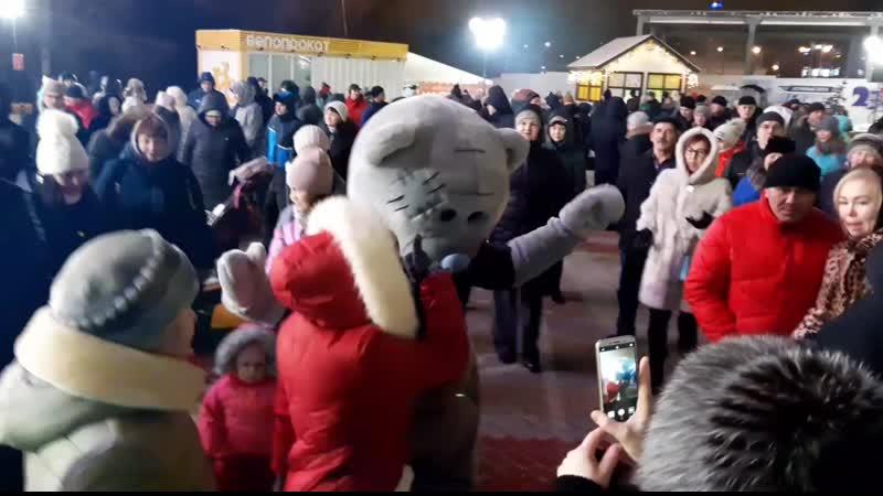 Мишки Счастья и Новогодняя вечеринка с Тӑван радио 7 952 311 10 24