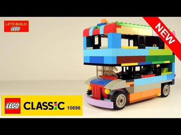 LET'S BUILD LEGO FAMOUS ENGLISH DOUBLE DECKER BUS