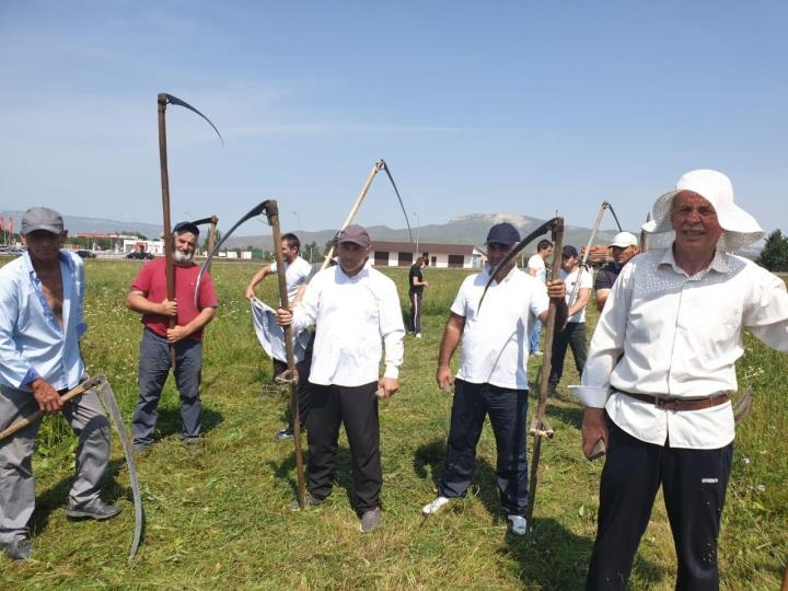 Лучшим косарем в КЧР стал житель Кызыл-Октября