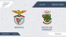 AFL19. Portugal. Primera. Day 14. Benfica - Pacos De Ferreira.