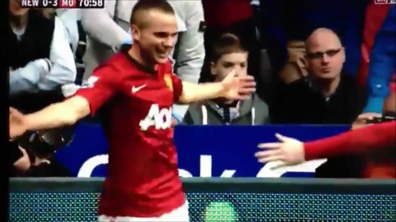 Tom Cleverley Amazing Goal | Newcastle - Manchester United | 7/10-2012 | HD | HQ |