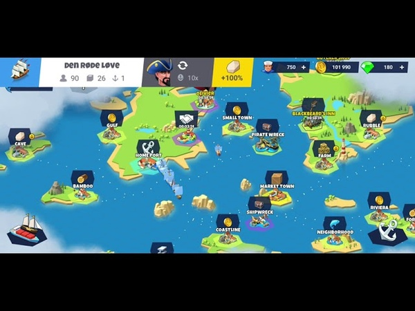 Seaport - Explore, Collect Trade Iphone/Ipad/Android Gameplay 71 1080p