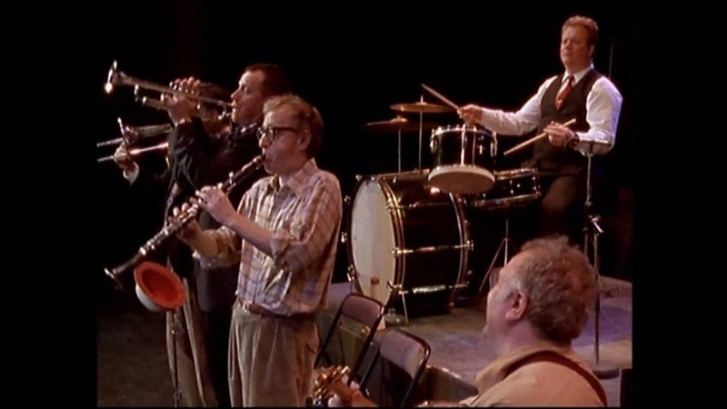 Woody Allen Concerto Parigi 1996 Estratto da Wild Man Blues Brano: The Old Rugged Cross