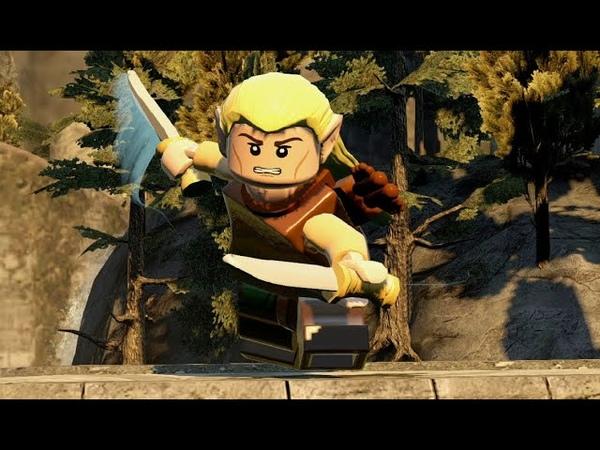 LEGO The Hobbit LEGO Хоббит Прохождение 6 PS4 Gameplay