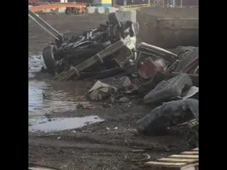 Жестокая смерть Ford Ranchero. Слабонервным не смотреть!