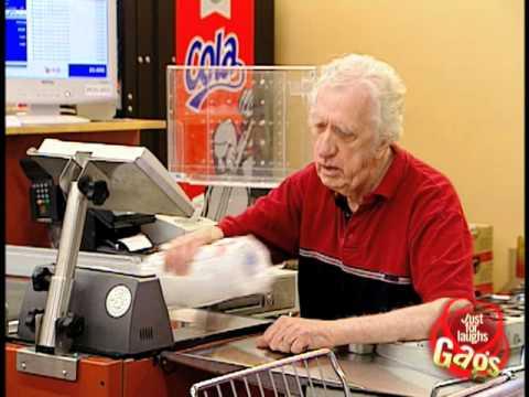 Epic Old Man Senile Cashier Prank