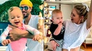 Анна Курникова и Энрике Иглесиас: веселые танцы с малышами на яхте.