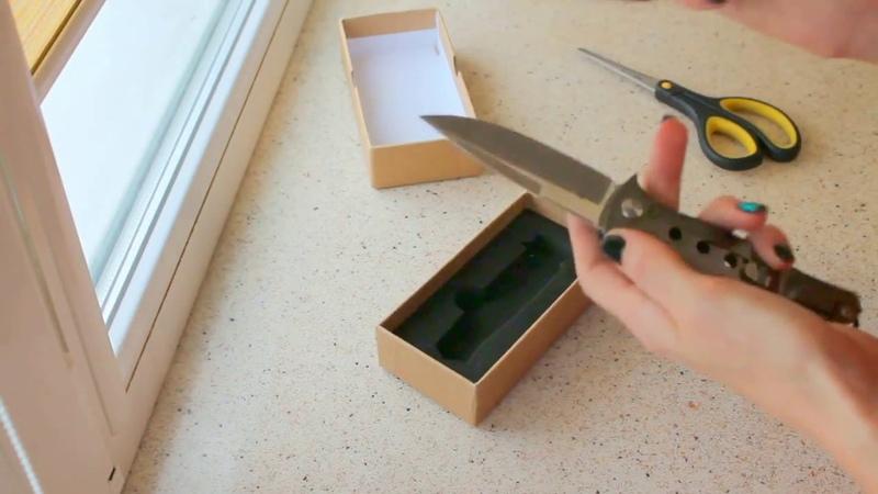 Нож доктор смерть. Обзоры . Распаковка посылки из Китая.