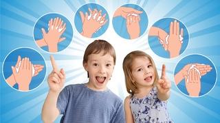 Мой руки с мылом. Как правильно мыть руки? Руки мыть нужно каждый день. Песенка инструкция для детей