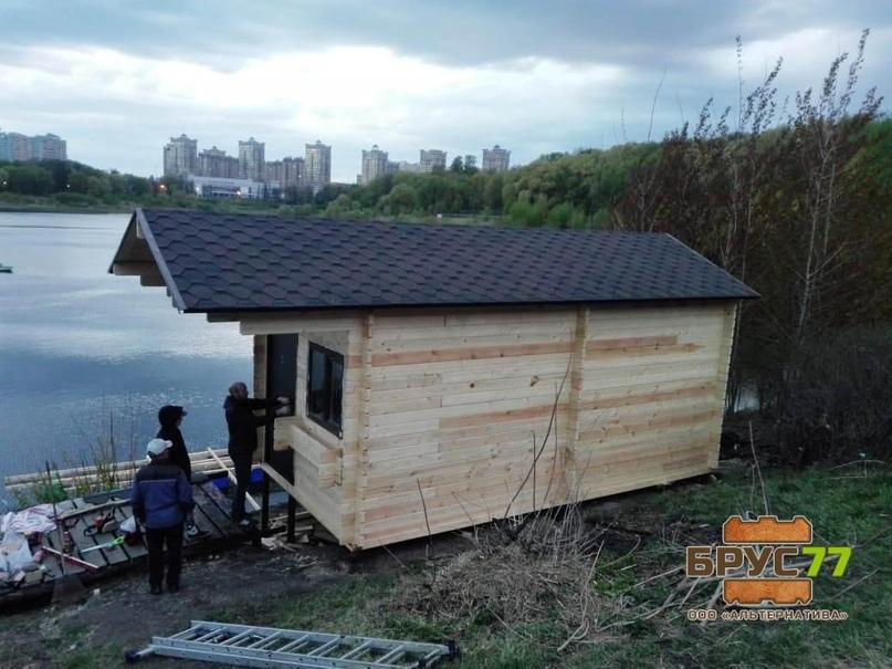 Брус профилированный под проект дома в Краснодарском крае