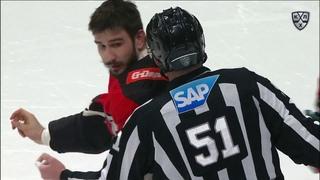 Slava Voynov drops his gloves for the second time in Russia