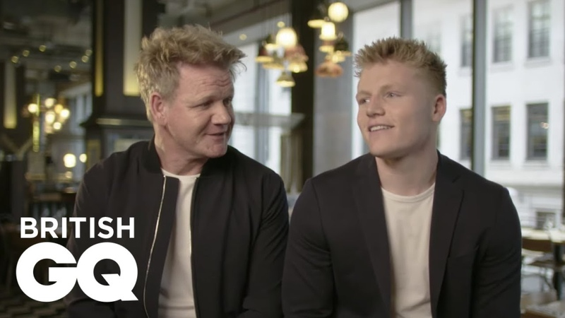 Gordon Ramsay on what keeps him up at night as a parent British GQ