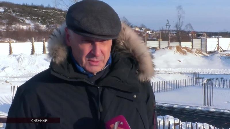 Строительство объектов вХасынском иОльском округах проверил губернатор Сергей Носов