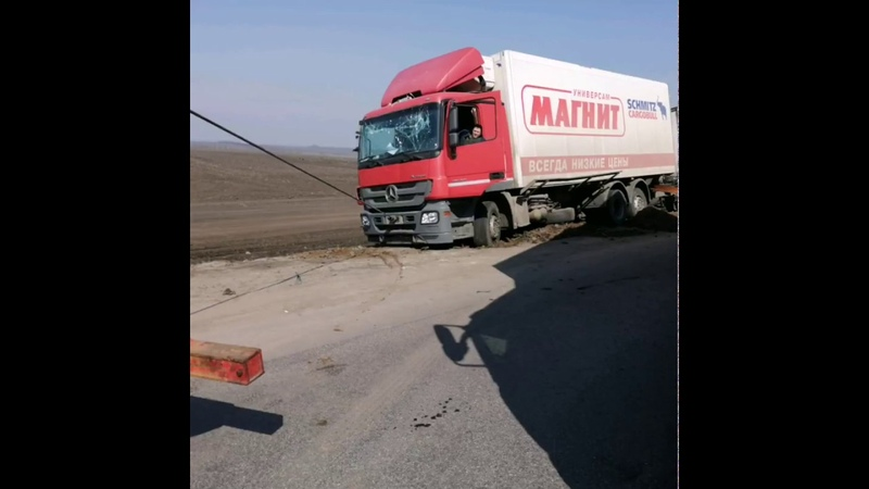 Эвакуация груженного паравозика Mercedes Курская область