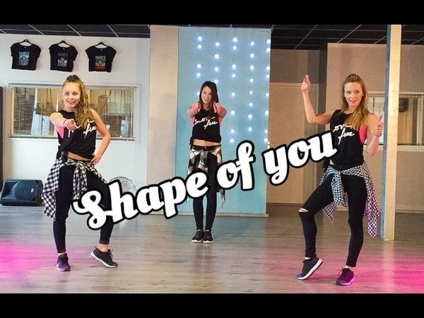 Shape Of You Ed Sheeran Fitness Zumba Dance Video Choreography