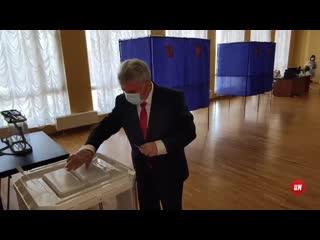 Мэр Саранска принял участие в голосовании по поправкам в Конституцию