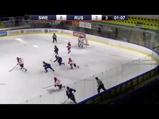 Хоккей. Россия 3-0 Щвеция (Кубок Глинки/Гретцки)