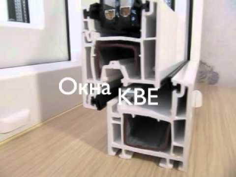 Окна KBE. Bauplast.ru