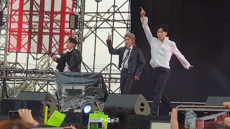  181209  [NCT U] Taeyong × TEN - Baby Don't Stop MayaMusicFestival in BKK