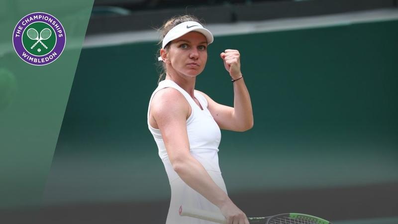 Simon Halep vs Victoria Azarenka Wimbledon 2019 third round highlights