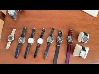 Про мужские наручные часы.  Обзор моей коллекции.