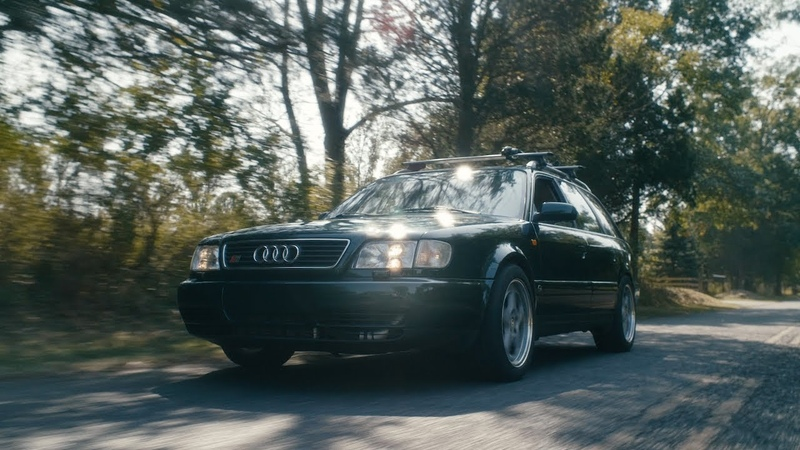 A Lightly Modified and Tuned 1995 Audi S6 Avant