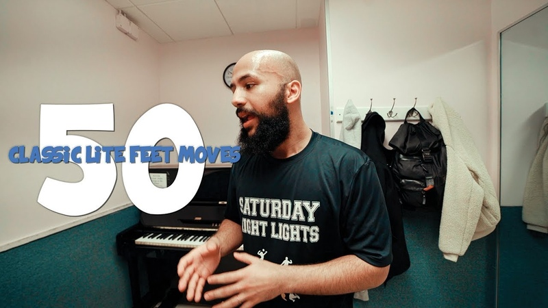 50 CLASSIC LITE FEET MOVES w E SOLO