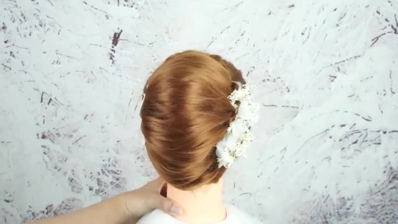 Beautiful Hairstyle For Wedding Party Function French Bun Hairstyle Easy Fre