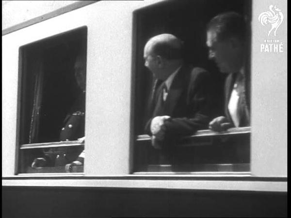 President Tito's Visit To Turkey 1954