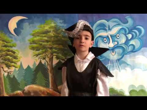 А.С. Пушкин – «Сказка о мертвой царевне и о семи богатырях». Читает Нарек Элоян (6 лет).