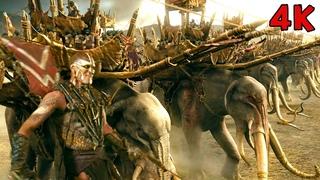 Битва с олифантами | Властелин колец: Возвращение короля | 4К Ultra HD