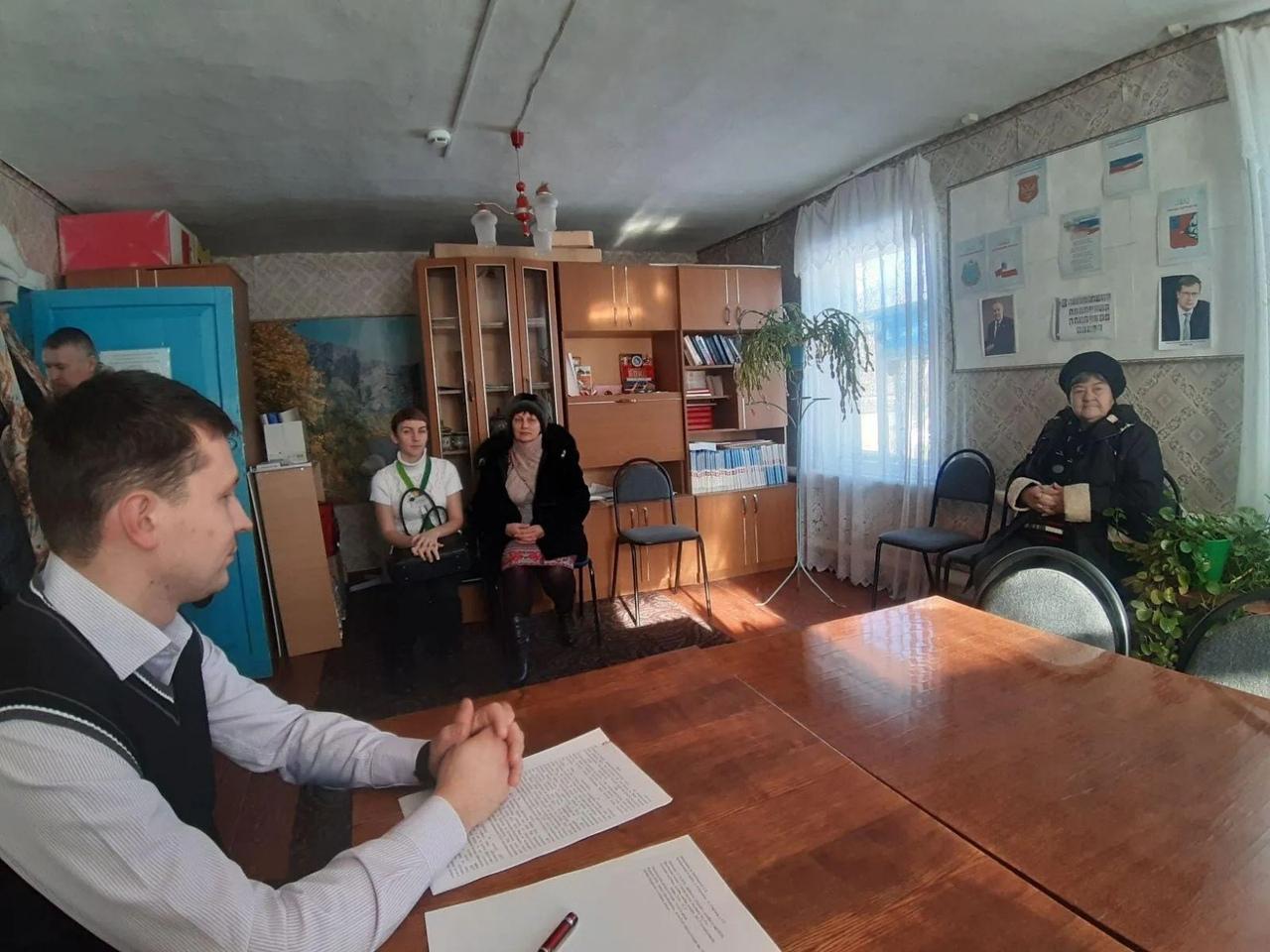 В Берёзовском муниципальном образовании состоялся приём граждан