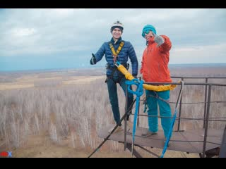 Rafis N. прыжок #FreeFallProX  команда #ProX74 объект #AT53 Chelyabinsk 2019 1  jump #RopeJumping