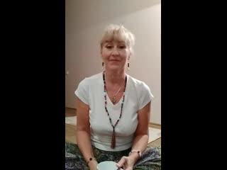 Занятие утренней оздоровительной йоги и медитации  дома с Натальей Красавиной