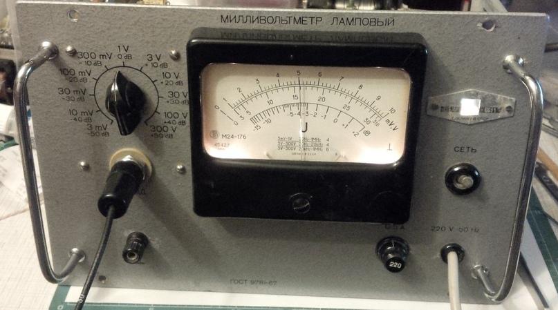 Небольшая модернизация лампового милливольтметра В3-13., изображение №14