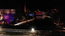 Tammerkoski in a Nightlights, Tampere Finland [Drone 4K]