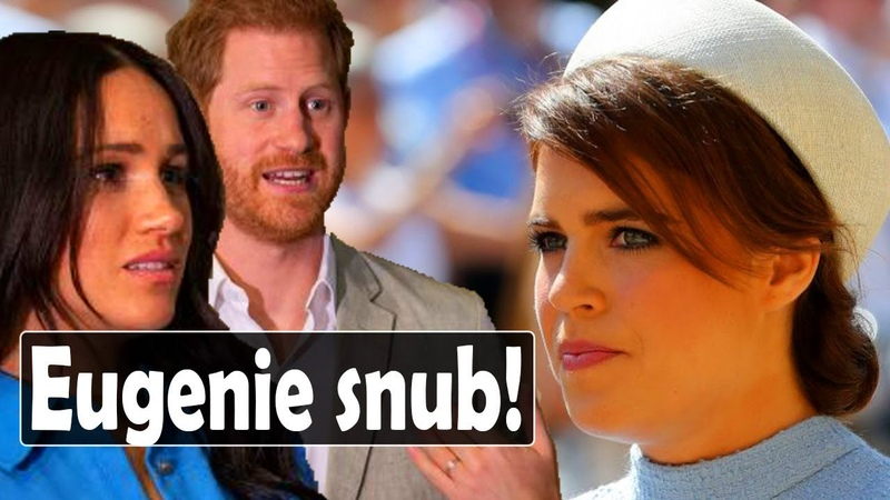 Royal rift Eugenie snub Harry and Meghan dodge Beatrice's Wedding