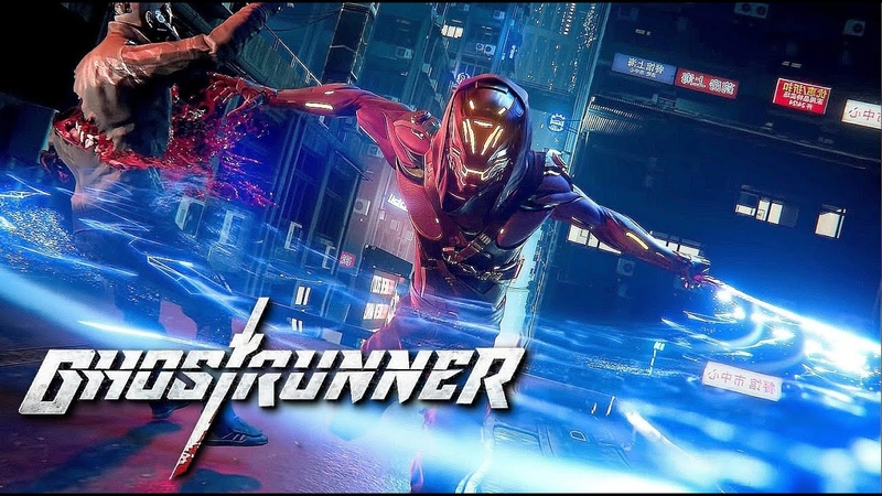 Brutal First Look at 'Ghostrunner' New Cyberpunk Combat Action Game